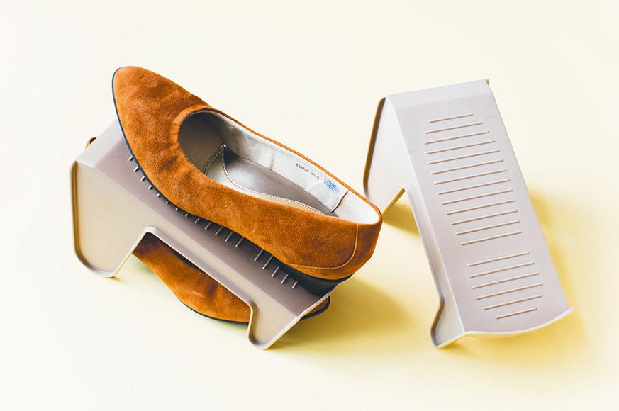 靴を省スペースで管理できるお役立ちアイテム