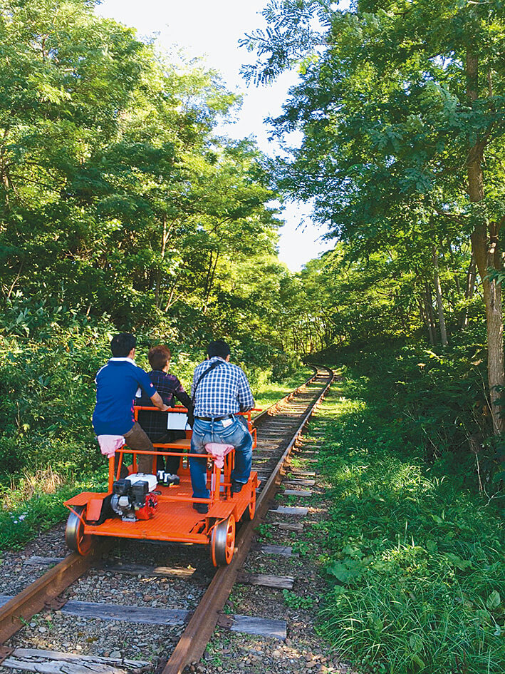 三笠トロッコ鉄道