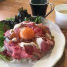 【仙台朝市】ランチはローストビーフ丼500円!お洒落なcafe&bar