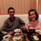 ぷりっぷりエビフライがおいしいランチ!@石手川公園