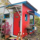 1席だけの美容室・明石朝霧「ハナレ」☆花と緑いっぱいの庭&海の景色で寛ぎ空間♪