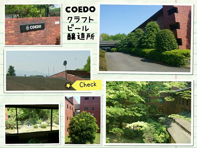 COEDOクラフトビール醸造所:外観