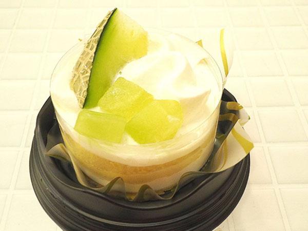 【ローソン】2週間だけの限定販売♡メロンのショートケーキ