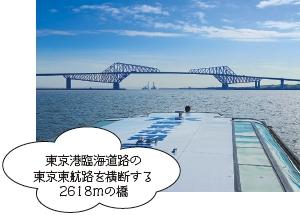 東京湾の最前線ブリッジ