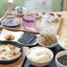 【青葉区五橋】韓流カフェのランチ&花茶「福茶」