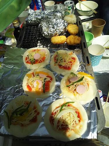 杉並区「和田堀公園」でアウトドアしよっ!主婦の簡単BBQレシピ@西永福