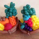 大人も子供も大歓迎!バルーンアートプレゼント。3月30日は、グリーンファーム。