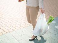買い物・レジ袋・女性