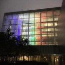 2020年まで、町田市庁舎がオリンピックカラーにライトアップ!