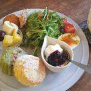 インスタで話題!吹田のお洒落カフェ「ひつじ舎」のスコーンのモーニング♪