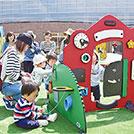 【箕面】全国でも珍しい0~2歳児向けの屋外広場「たのしーば」