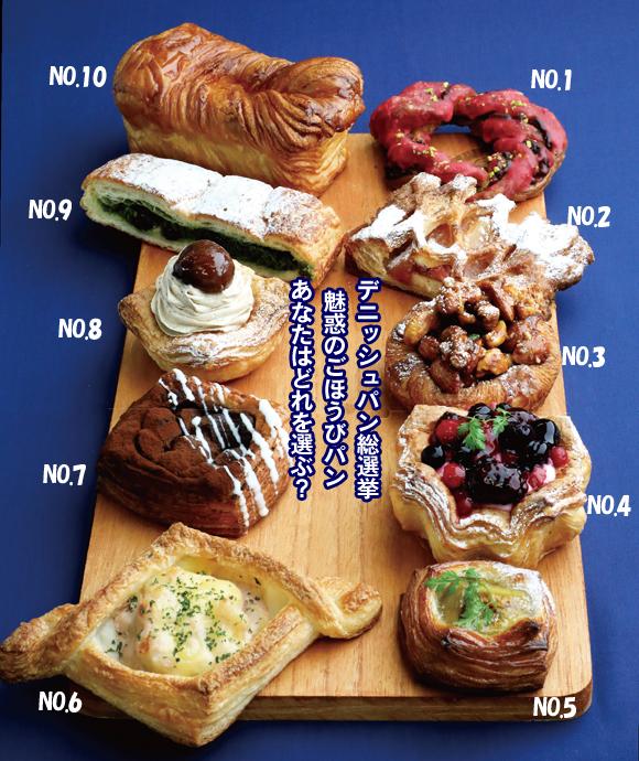 多摩エリアの「デニッシュパン」総選挙 魅惑のごほうびパン あなたはどれを選ぶ?