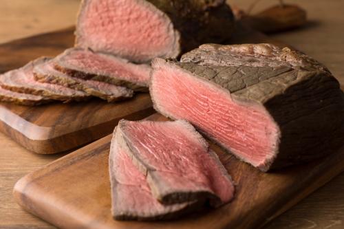 オーストラリア産モモ肉のローストビーフ