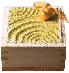 茶房パフェ-日本庭園風-