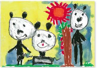 幼児~小学生対象 好きな動物の絵を描いて応募を