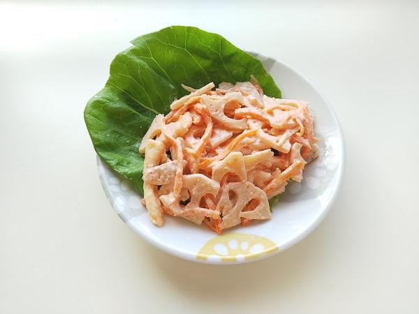 明太蓮根サラダ