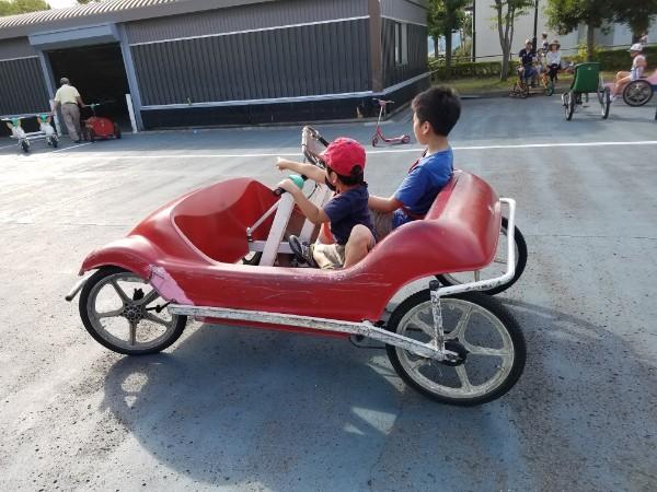 おもしろ乗り物ランドが人気!!「陶街道ゆとり公園」@砥部町