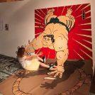 実際に土俵にもあがれる体験型「大相撲展」。松坂屋で7月10日(火)まで