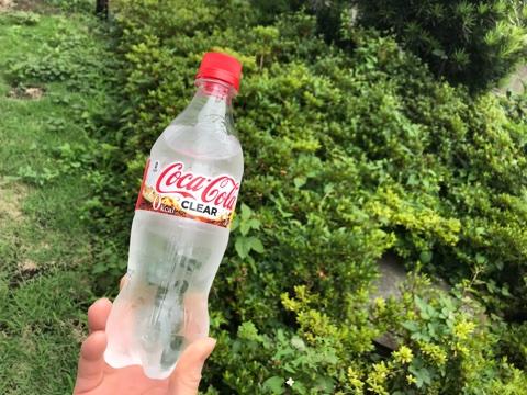 炭酸女子【CLEAR Coca Cola-クリアコカコーラ】を飲む!