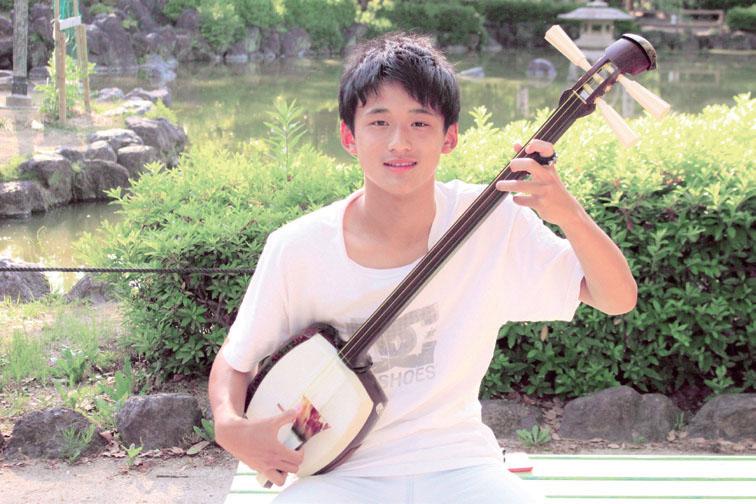 街のイケMens/三味線のプロを目指す中学生!中村滉己さん(14歳)