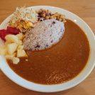 「さいさい」の名物、さらさらカレー。6月から野菜のお惣菜が食べ放題(JR南大高駅前)
