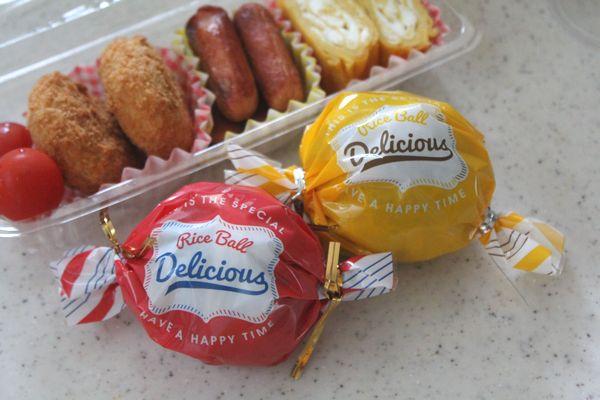 SNS映え!100均のキャンディ型おにぎりラッピングは女子弁当にピッタリ!