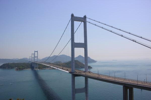 しまなみ海道への第一歩。糸山公園から望む来島海峡@今治市小浦町