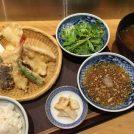 『ミコ』の揚げたて天ぷら定食は780円でコーヒー付@立川