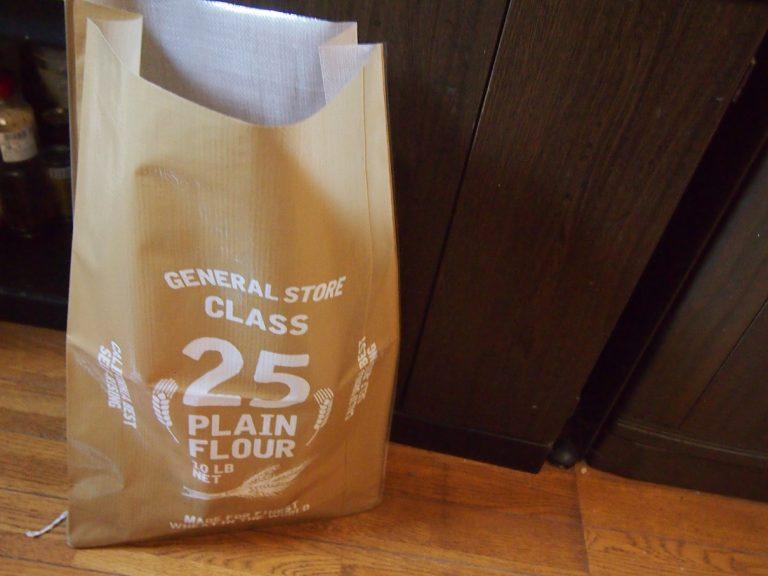 台所のごちゃごちゃを収納【セリア】マルチストックバッグ