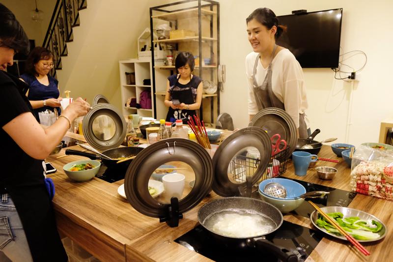 台湾料理研習所・レッスン風景