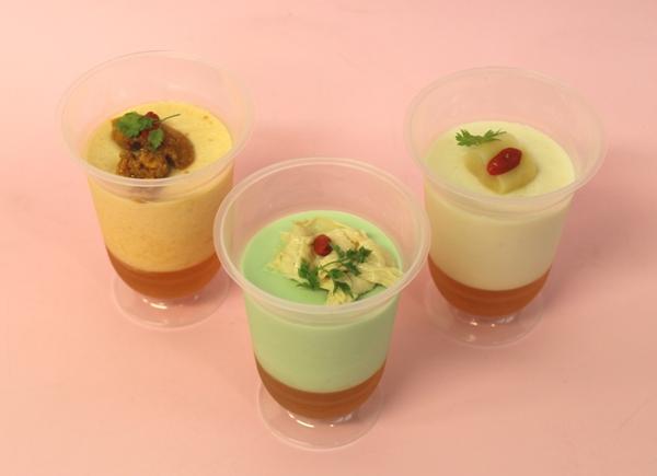 小田急セレクション 見た目はまるでデザートのような和惣菜 出汁がきいたさっぱりムース