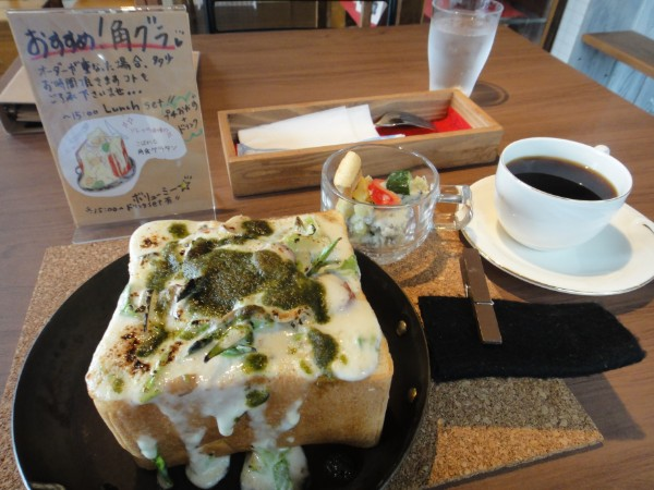 とろ~りこぼれる角食グラタン&素敵なライブ♪Coffee Sorella  (コーヒ ーソレッラ)札幌東区