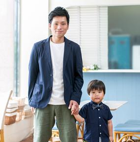 パパ&キッズの夏リンクコーデ!【URBAN RESEARCH DOORS】