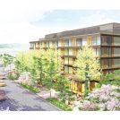 オリンピックを見据え 若宮大路沿いに新しいホテルが着工