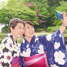 【イベント報告】浴衣姿で涼やかに…大阪で「和ごころおもてなし体験in太閤園」を開催