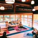 【立川】がんこ武蔵野立川屋敷でストレッチ&和食を
