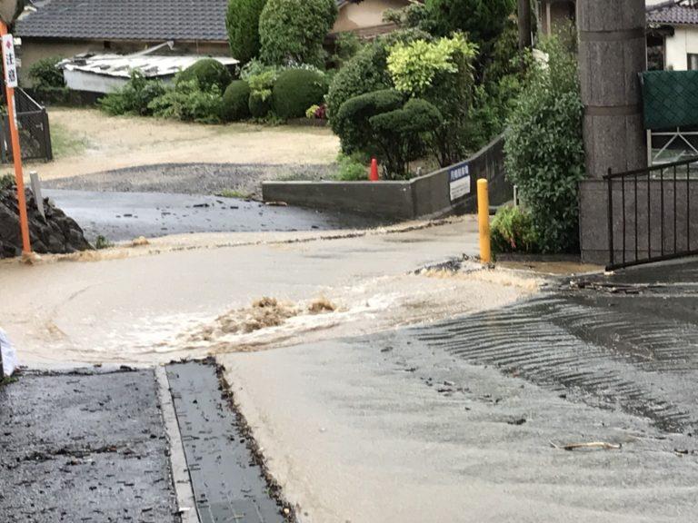 このたびの記録的大雨による災害について