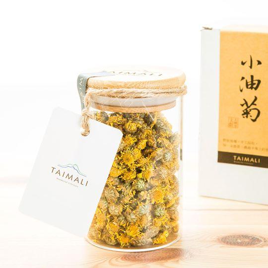 台湾台東市・TAIMALI太麻里珈琲館の小油菊
