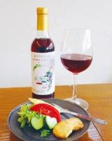 「本日のグラスワイン(100ml)と野菜のおつまみ」