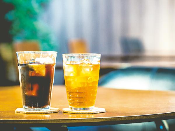 夏のおもてなし アイスコーヒー&アイスティー
