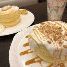 14時から限定!☆ふわ&くしゅ☆の絶品パンケーキ♪さかい珈琲多摩境