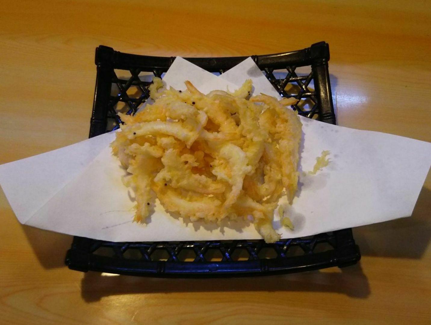 白海老の天ぷら