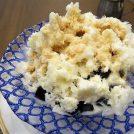 ウインナーコーヒーをイメージしたかき氷を倉式珈琲店で@府中