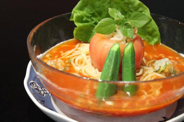 【薩摩川内】夏季限定★冷やしトマト麺がうますぎる!担々麺も有名な「cafe&拉麺 しぇんめい」