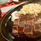 アツアツのステーキを堪能!ステーキ&ハンバーグ 牛の家(うしのや)@大和