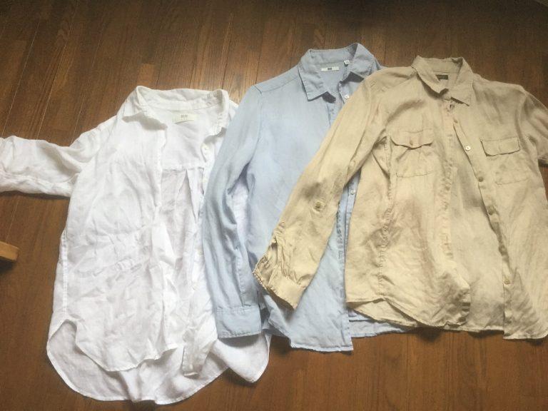ユニクロ【プレミアムリネン】のシャツがコーデの基本
