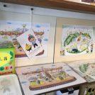 鎌倉 路地裏親子カフェで絵本の原画展開催中です!