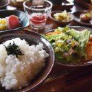 米農家が営むカフェ!「米屋カフェはちぼく」おいしいごはんと革小物@松伏町