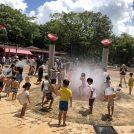 千葉市動物公園なら水遊びもできて、キッズ大満足!