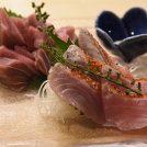 柏駅東口、魚浜(さかな)は旬の魚料理いろいろ。こだわりのお酒も